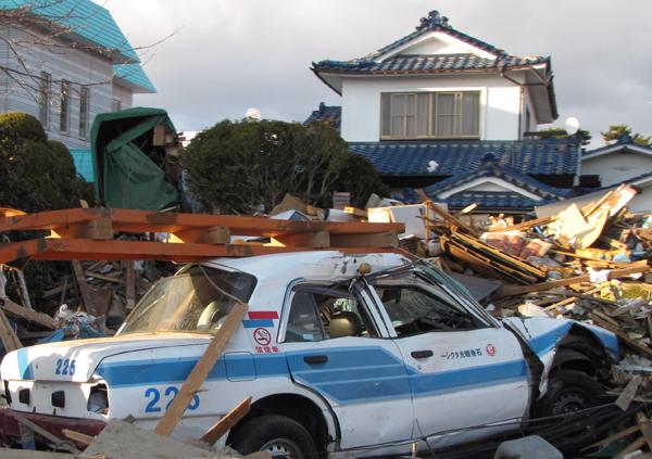 Ishinomaki Kanko Taxi Photo by Chea Japan