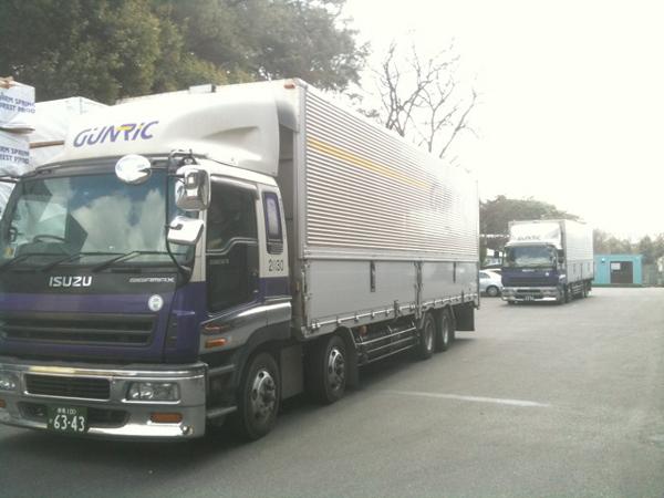 Ishinomaki Saito Hospital Relief Truck
