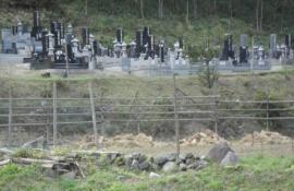 Higashi Nippon Disaster Otsuchi Cemetary