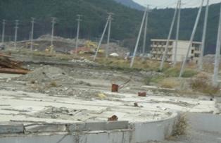Higashi Nippon Disaster Otsuchi Housing Base