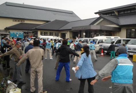 Higashi Nippon Disaster Radio Taiso in Tono