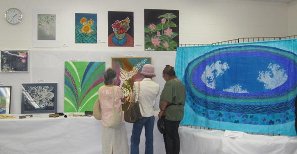 Hayashi Dyeing Exhibit