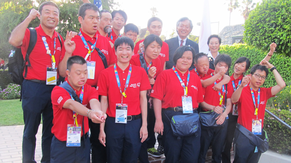 Special Olympic Japan Volletball Team