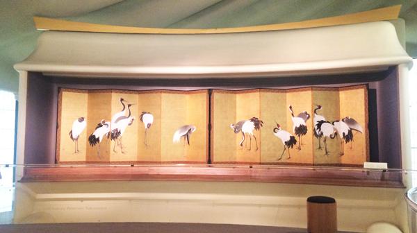 LACMA Maruyama Okyo Cranes