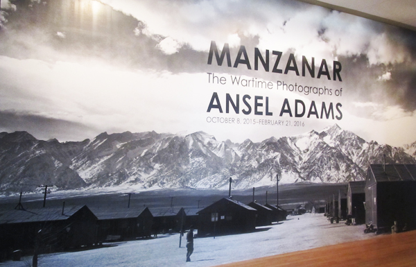 Skirball Manzanar Photo of Ansel Adams