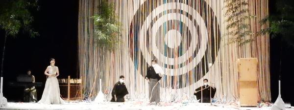 ロサンゼルスの日米文化会館の新年イベントKotohajime (Cultural News Photo)