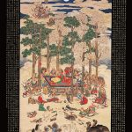 森徹山(1775-1841) 仏涅槃図(1837) プライス・コレクション