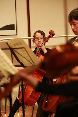 相馬子どもオーケストラの吉田里紗さん