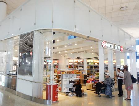 免税店がターミナル6にできました (Cultural News Photo)