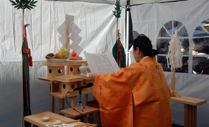 出世稲荷神社・禰宜 アメリカ出世稲荷神社・代表 はせがわいずみ (Cultural News Photo)