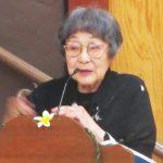 据石和さん (1927-2017) (2014年8月4日撮影、Cultural News Photo)