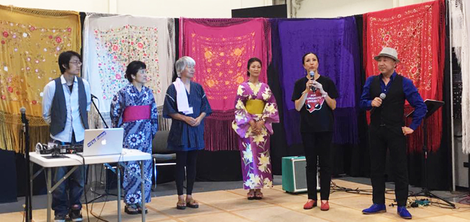 8月5日にガーデナで行われた熊本復興支援「火の国まつり」
