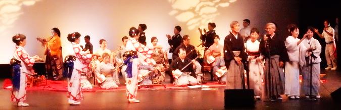 南加日本民謡協会の「秋の民謡・民踊ショー」 (Cultural News Photo)