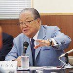 Mr. Yamashita, Chairman of Port and Transportation Association