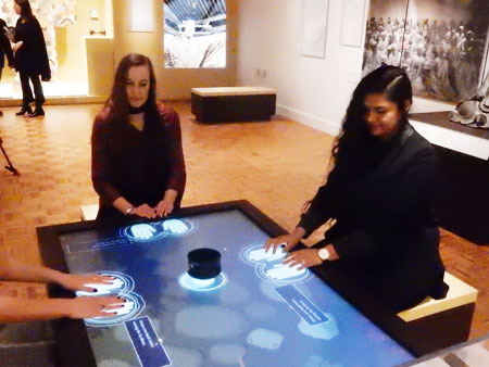 Detroit Institute of Arts Japan Gallery Interactive Tea Ceremony Table