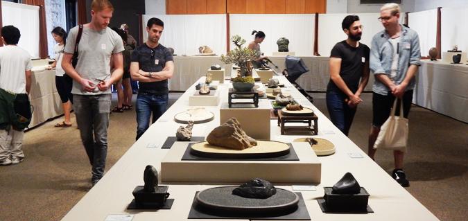 ハンティングトン・ライブラリーで行われている愛石展 。12月26日から30日まで。(Cultural News Photo)