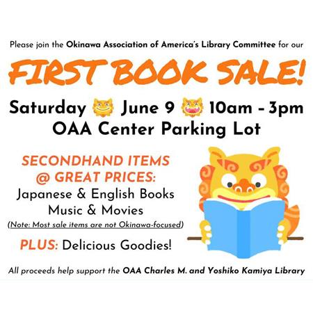 20180608 OAA Book Sale Icon