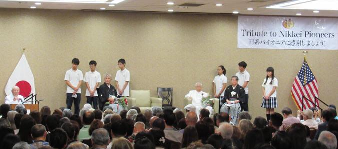 日系パイオニアに感謝する講演会、2018年9月8日。(Cultural News Photo)