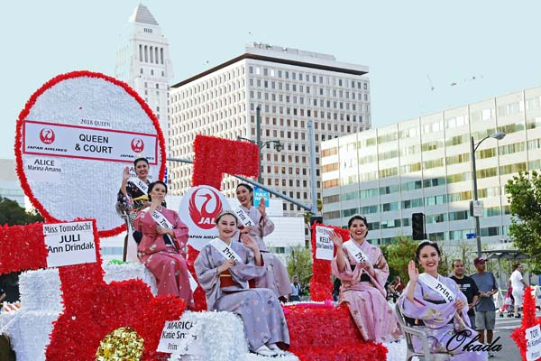 Nisei Week 2018 Parade (Photo by Nobuyuki Okada)