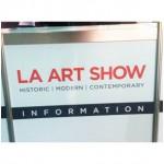 20140118 LA Art Show  Sign 5013