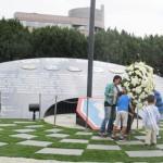 アメリカ霊友会が日系兵士記念碑の献花しました(5月17日)
