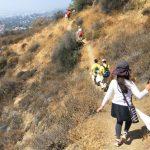 南カリフォルニア日系企業協会(JBA)が主催するゴミ拾いハイキング