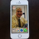 Shige Higashi at iPhone Screen