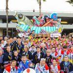 LA Nebuta 2017 Hollywood Chritsmas Parade