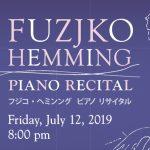 20190712 Fujiko Hening Piano Recital Icon