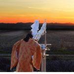 20191006 America Shusse Inari Shrine Sunrising Icon